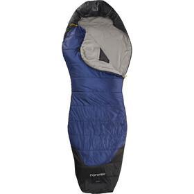 Nordisk Puk +10° Curve Saco de Dormir XL, azul/negro